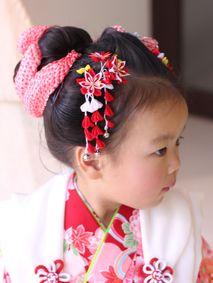 日本髪3歳